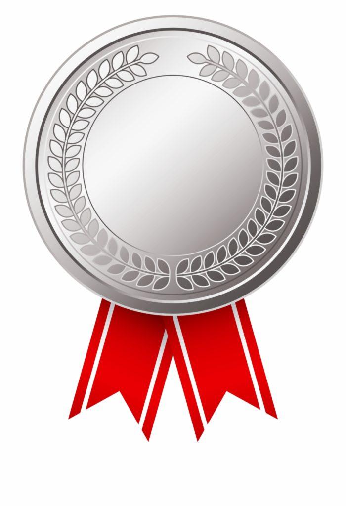silver medal membership icon